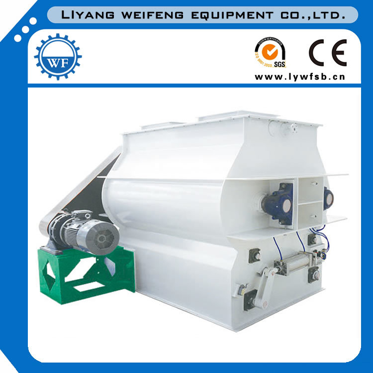Ssjh Series (SSH0.2) Double Shaft Paddle Mixer with High Efficient for Feeds Producing!