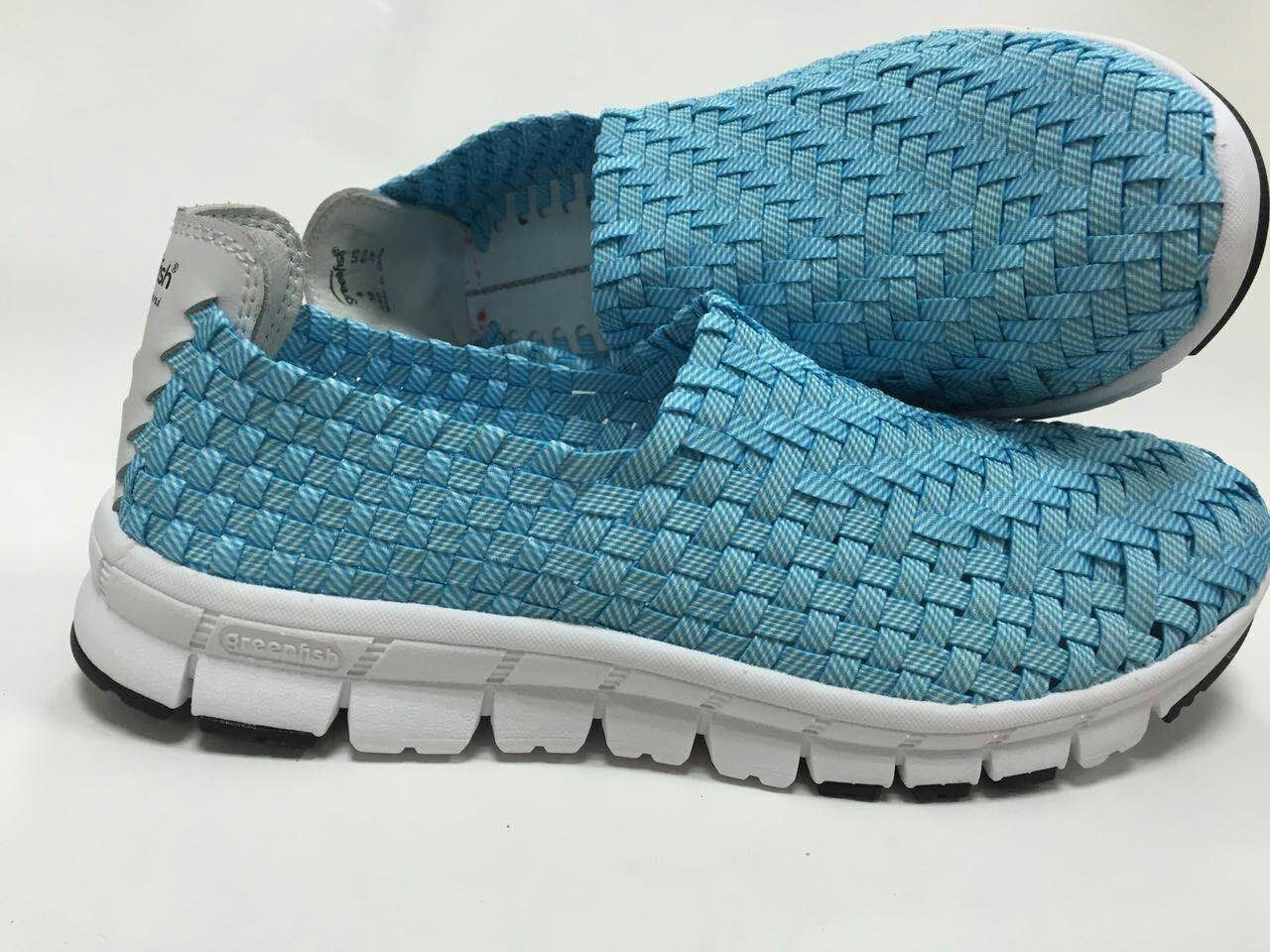 Flat Men and Women Shoes with Colorful Design