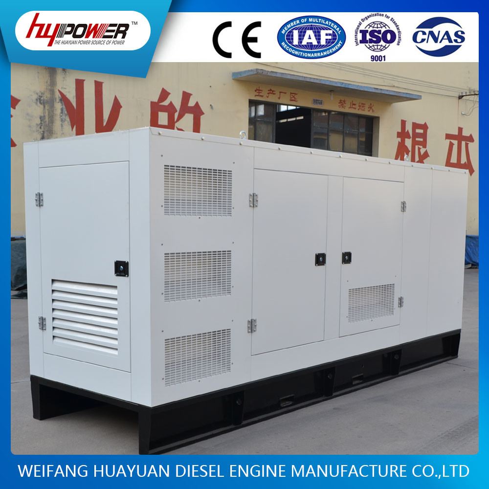 Prepare 100kw Diesel/Power/Electric/Silent Generator Set with Weichai Engine R6105izld