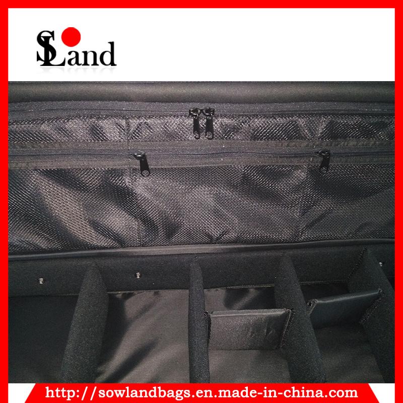 Black Polyester Fishing Tackle Reel Rod Bag