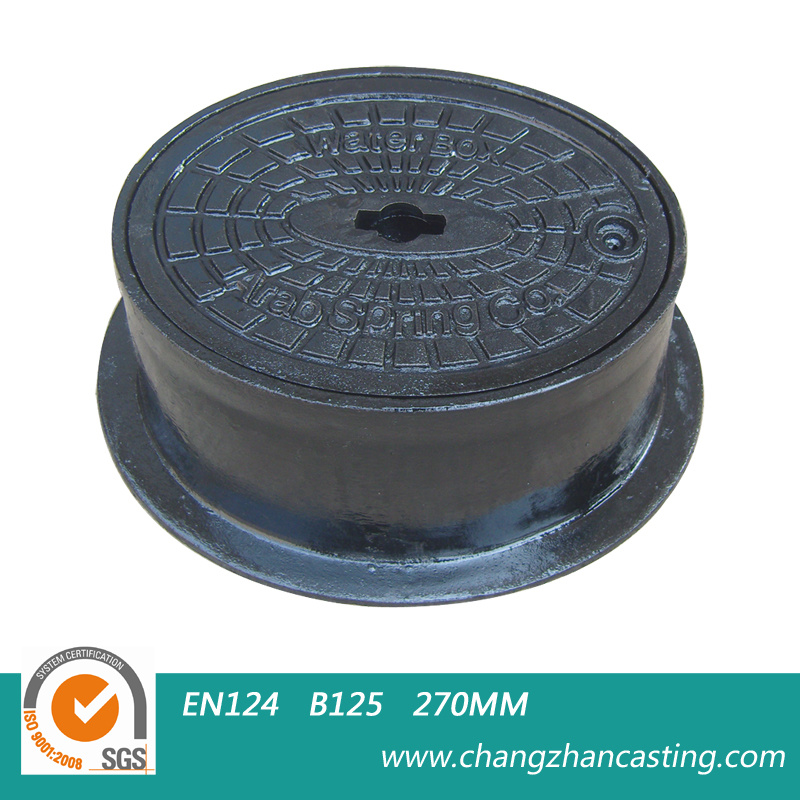 Round Ductile Iron Manhole Covers