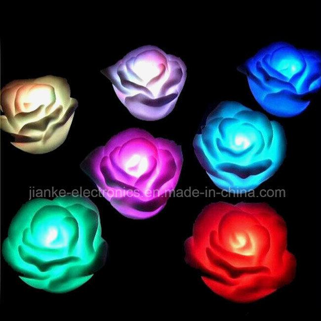 3D Egg Shape Multicolor Changing LED Baby Night Light (4030)