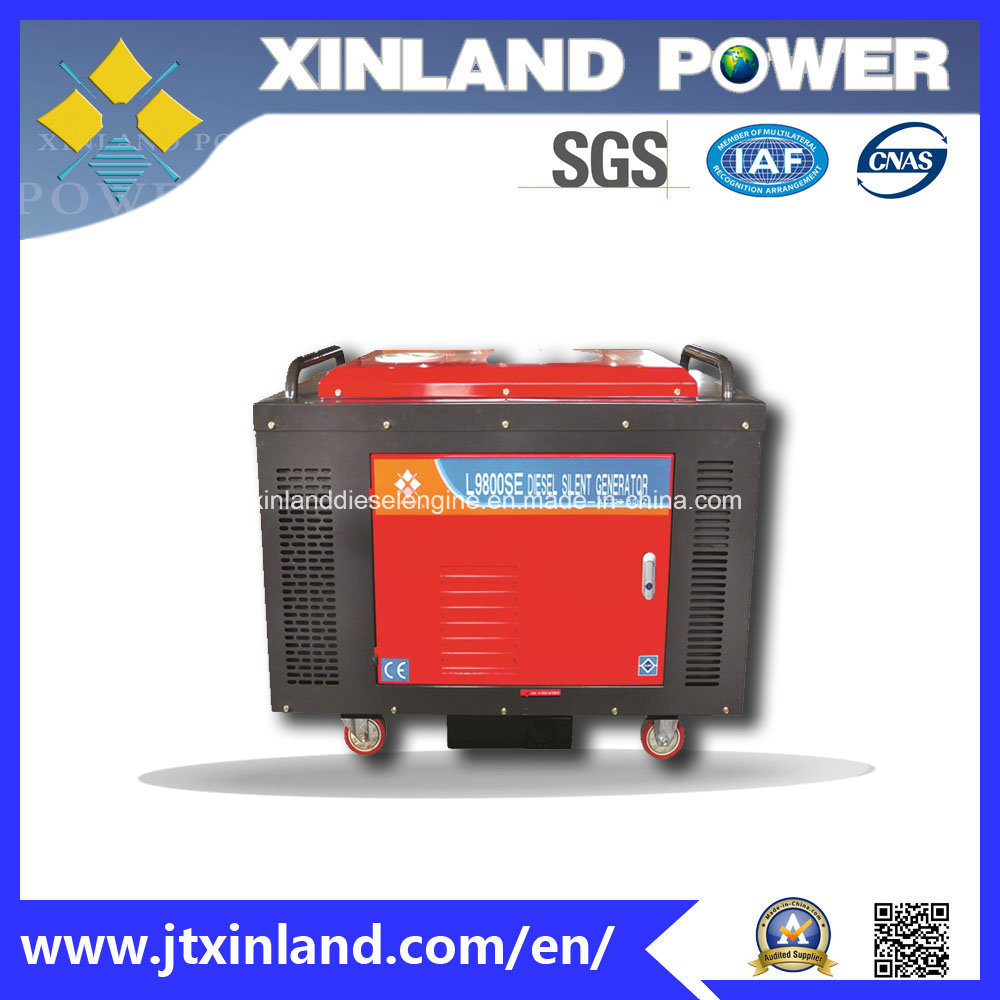 Single or 3phase Diesel Generator L12000s/E 60Hz with ISO 14001