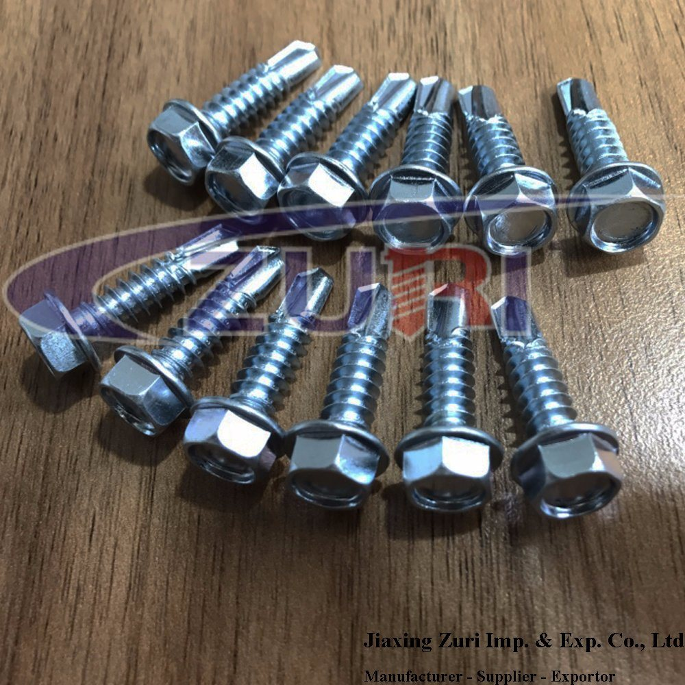 Self Drilling Screw 5.5X25 Hex Head