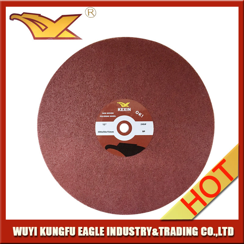 "12""Non Woven Polishing Wheel (300X50mm, 9P)"