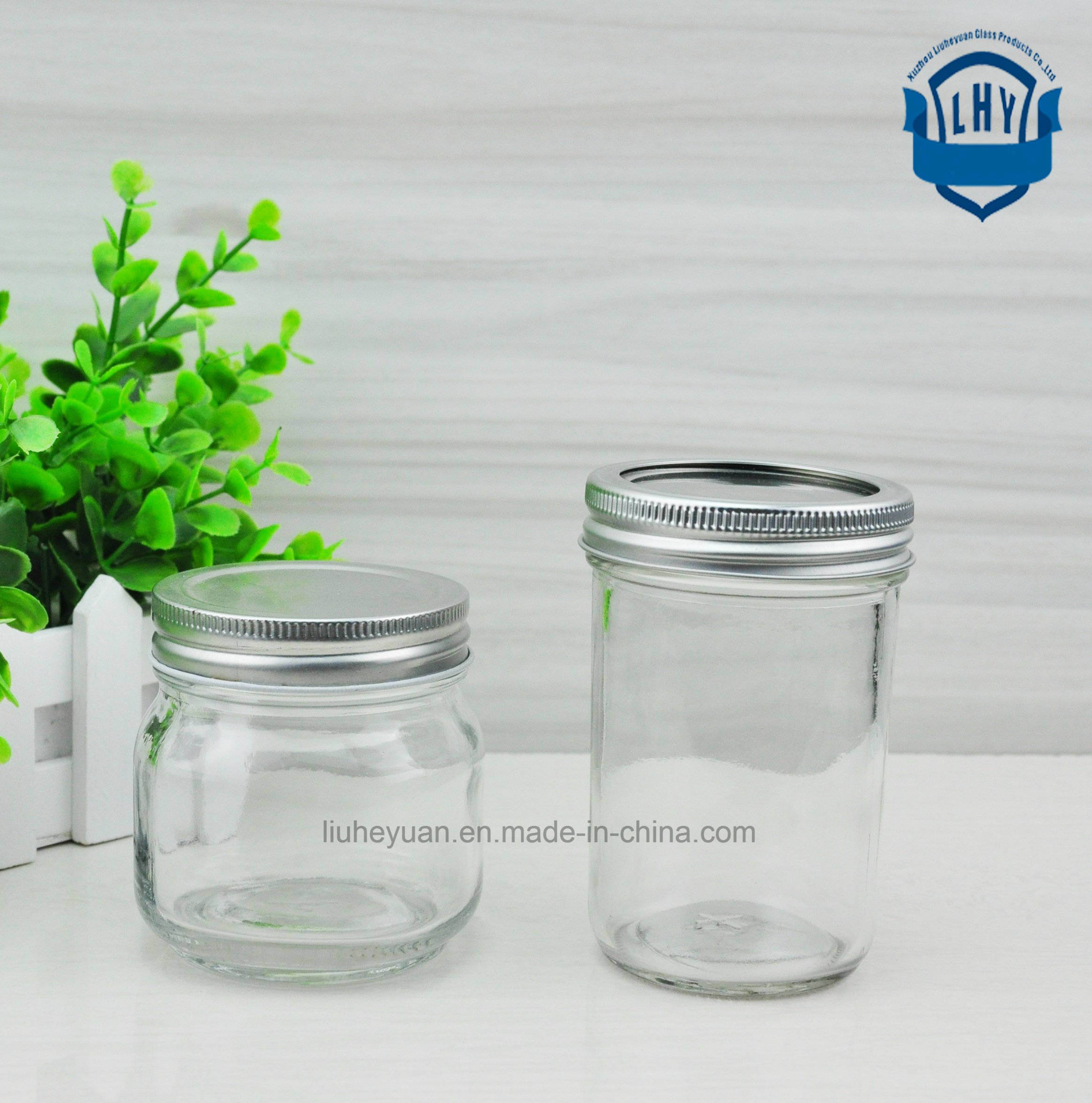 190 Ml Honey, Bird′s Nest, High-Grade Lead-Free Glass Bottles
