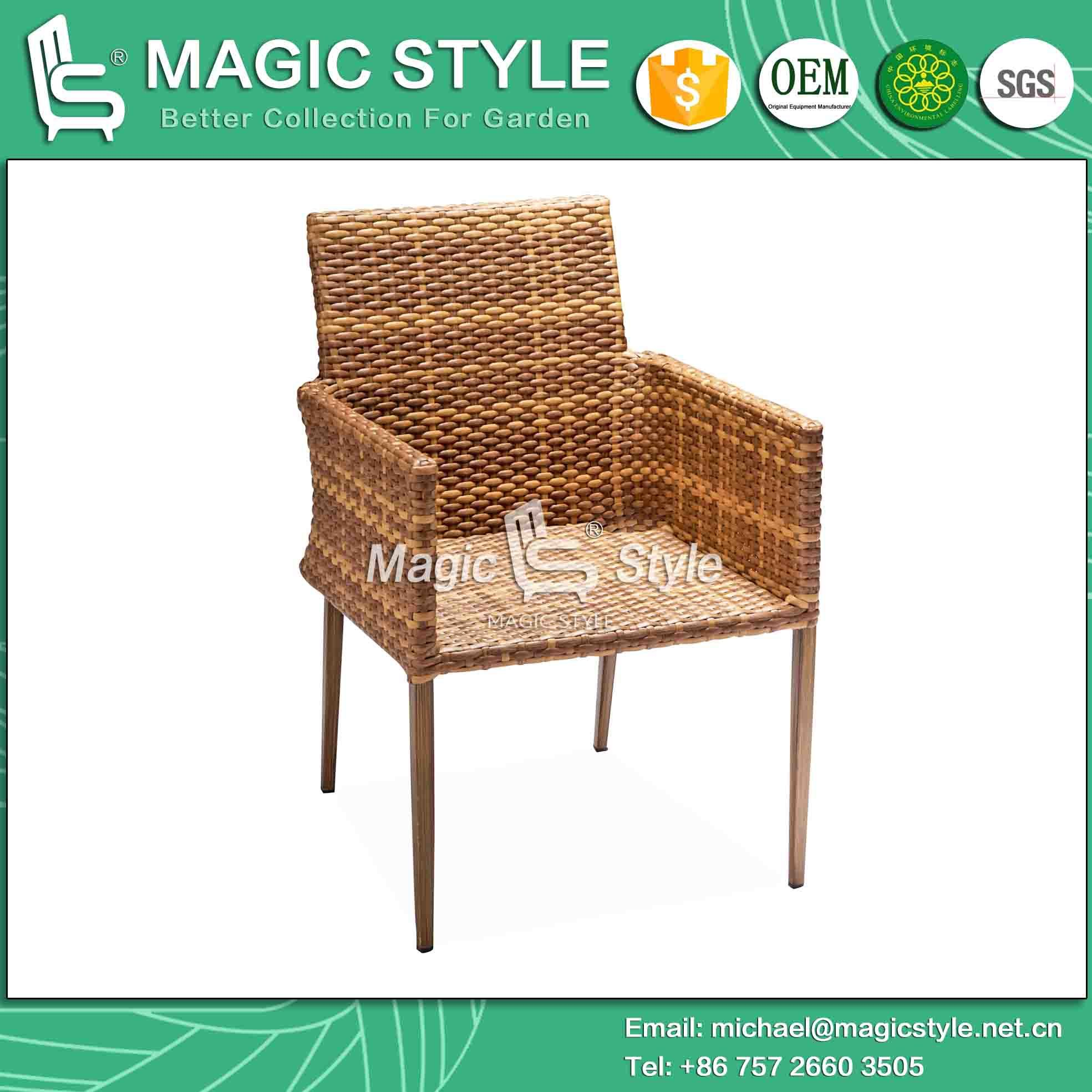 Outdoor Project Dining Chair with Cushion Bistro Chair