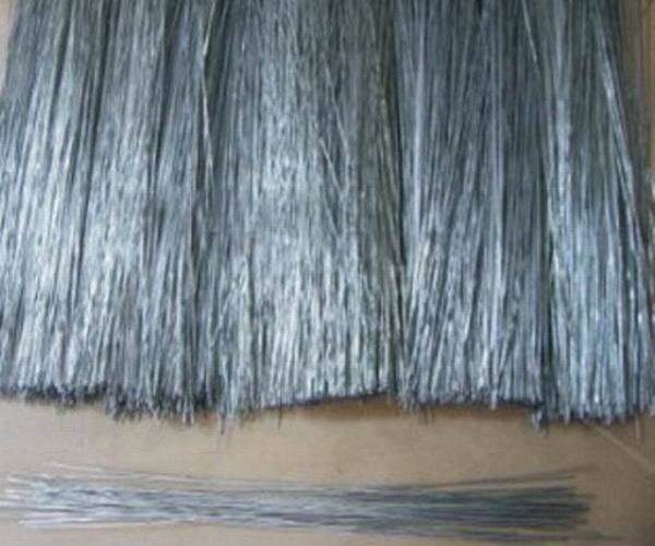 Galvanized Straight Cut Wire and Galvanized Straightened Cut Wire
