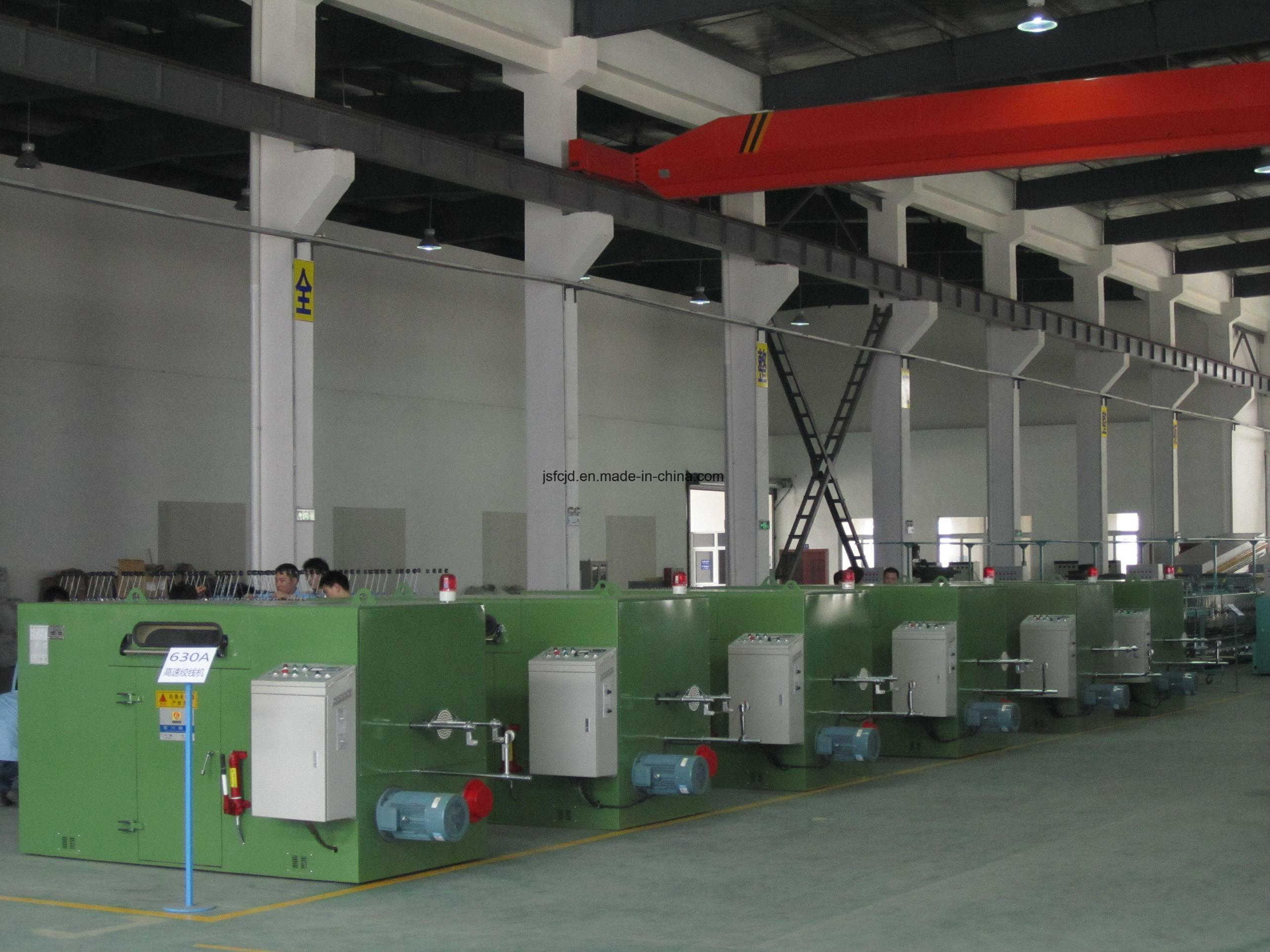 Copper Wire, Tinned Core Wire Twisting Machine (FC-800A)