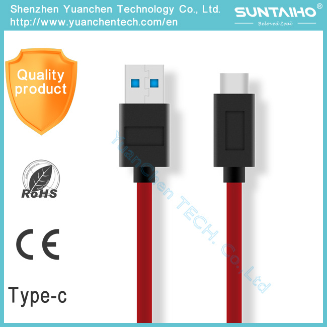 USB 3.0 Fast Charging & Sync Data Type C Cable for MacBook