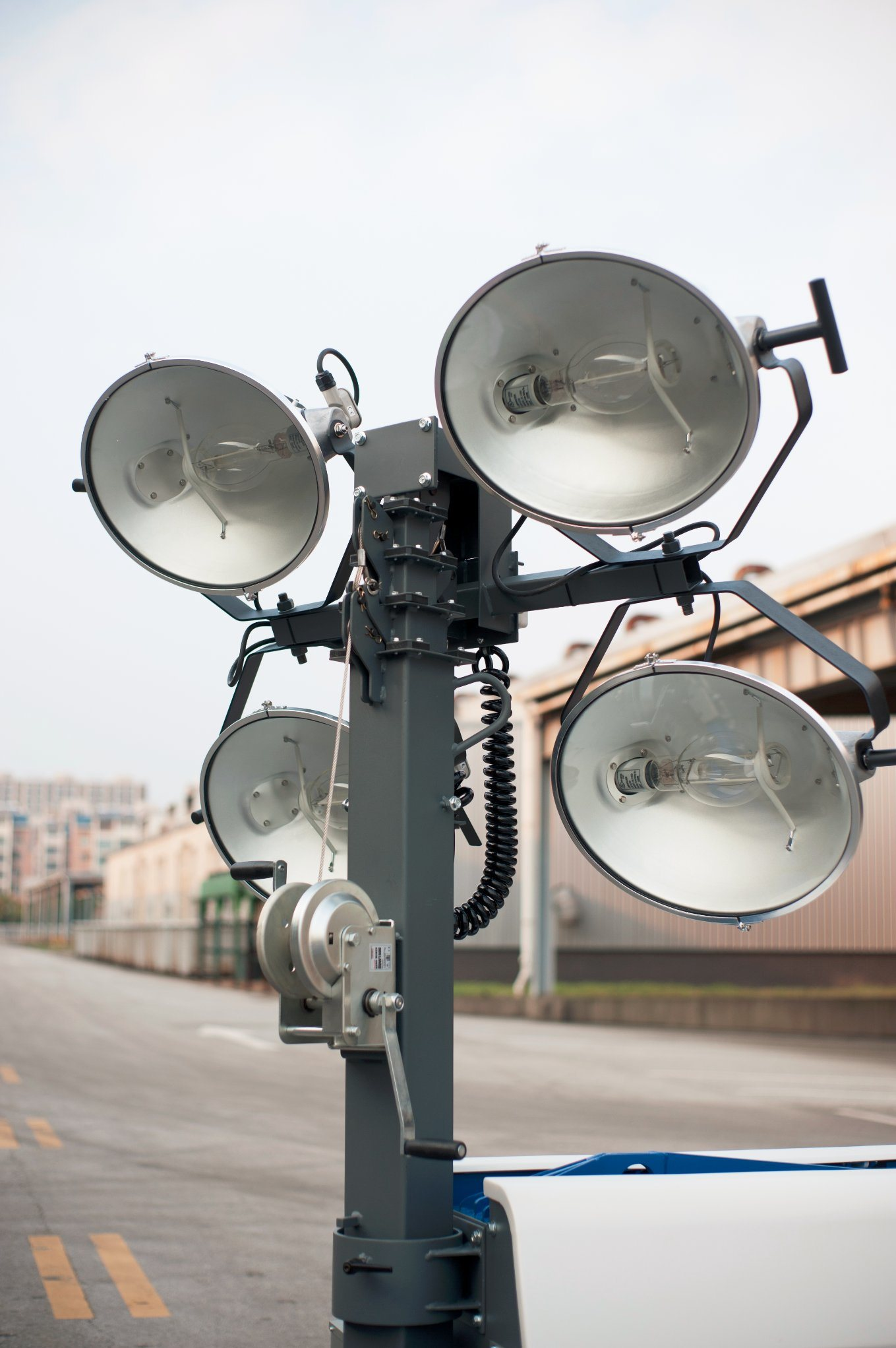 Industrial Usage Mobile Light Tower Kl06t Powered by Kipor Diese Engine