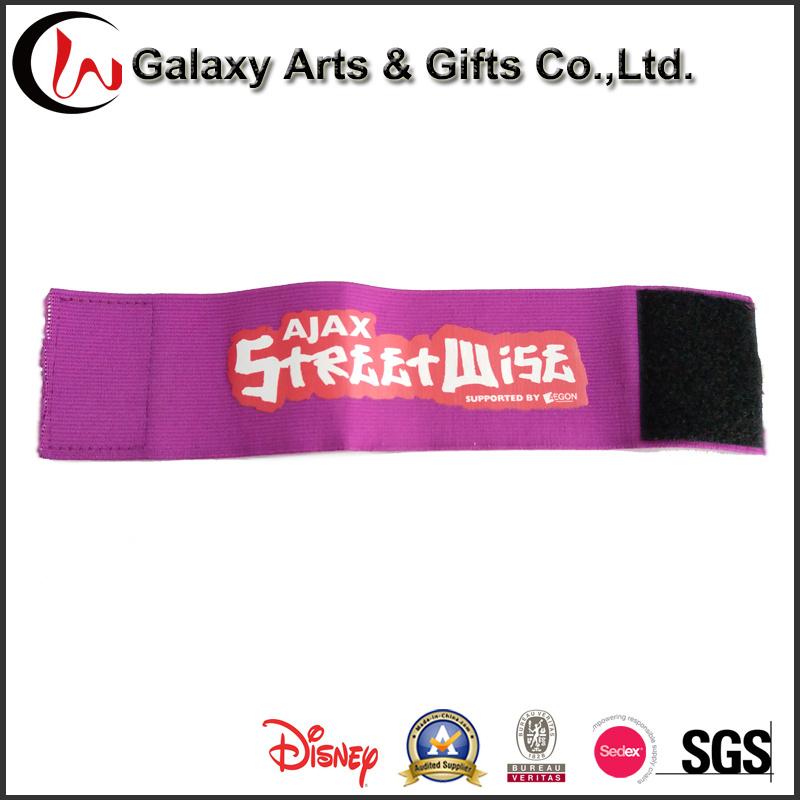 Universal Silk Screen Printing Polyester Sport Elastic Armband