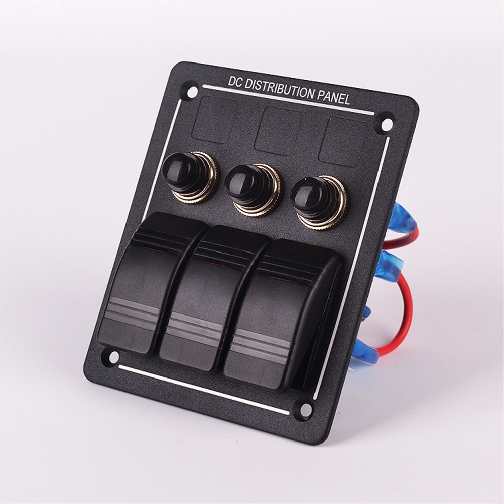 Dual USB Power Charger Socket Outlet with Voltmeter for Mobilephone