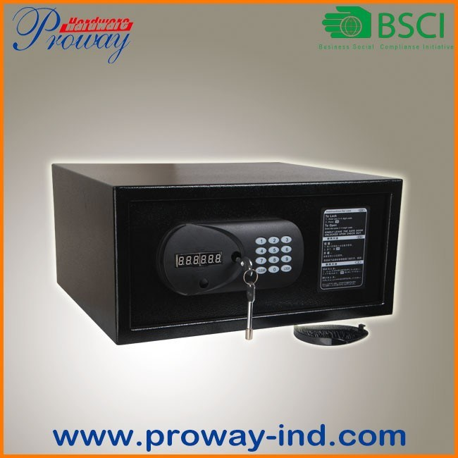 Laptop Size Digital Electronic Hotel Safe LCD Display Heavy Duty