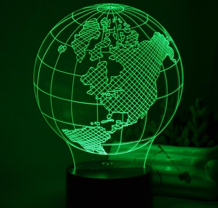 Custom 3D LED Illusion Night Light
