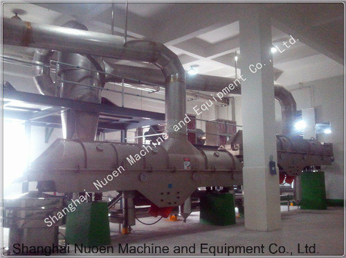 Nuoen Six Meters Vibration Fluidized Bed Drying Machine