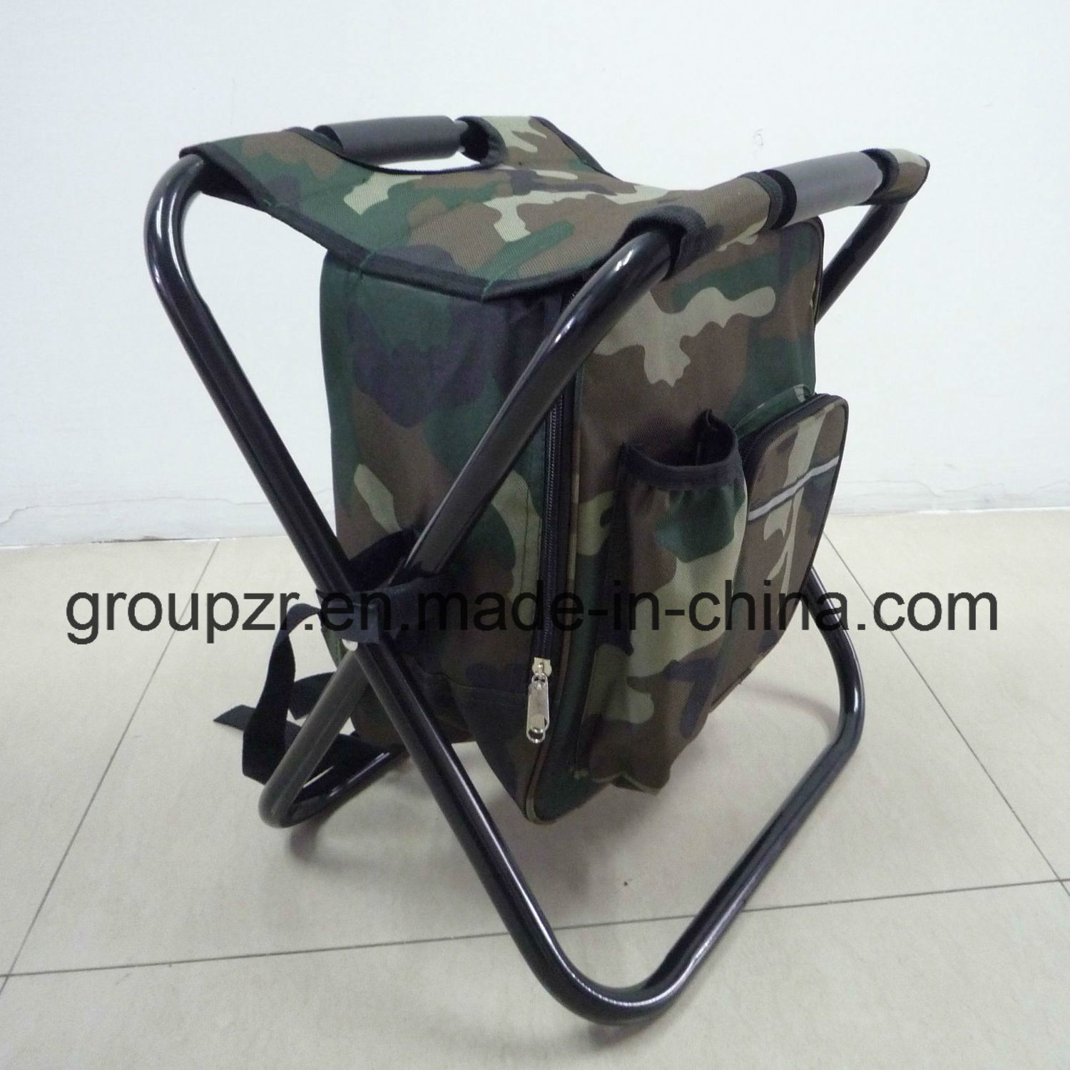 Folding Chair with Cooler Bag Camping Chair for Fishing