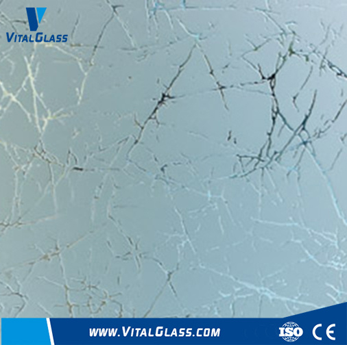 3mm-12mm Acid Etched Patterned Glass/Shower Glass