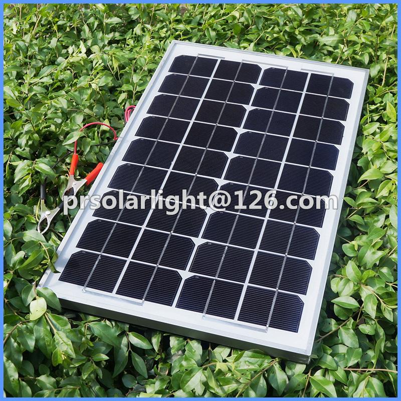 75W High Efficiency Mono Renewable Energy Saving Solar Cells