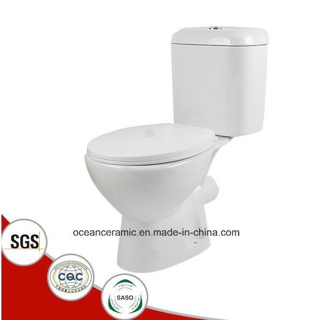 831 Water Closet Economic Washdown Two Piece Ceramic Toilet