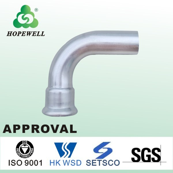 Top Quality Inox Sanitary Stainless Steel 304 316 90 Degree Short Elbow