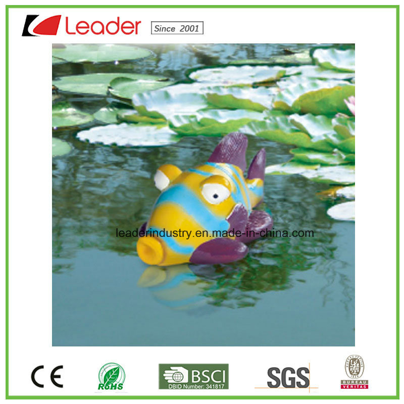 Hot Sale Floating Fish Figurine Pond Decoration, Made of PU and Polyresin