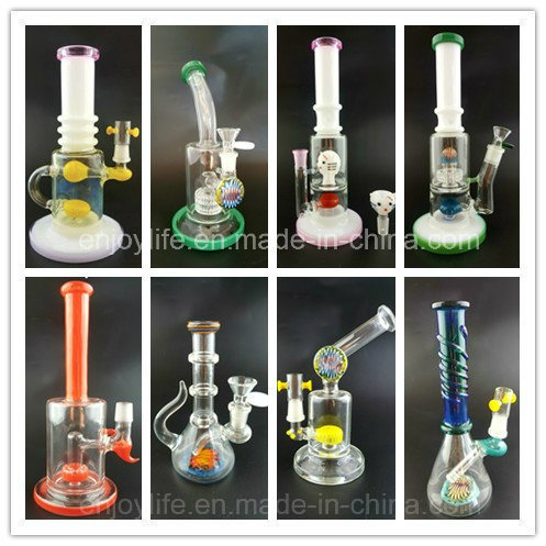High Quality Heady Beaker Bubbler Matrix Handcrafted America Colors Glass Smoking Water Pipe