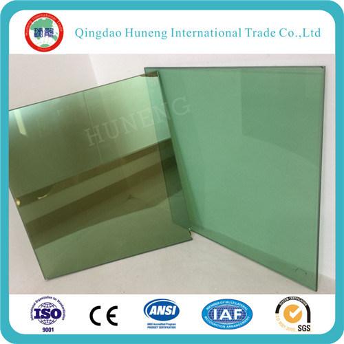 5mm Dark Green Reflective Glass A Grade
