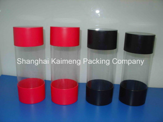 Clear PVC Plastic Candy Tubes Cylinders for Package