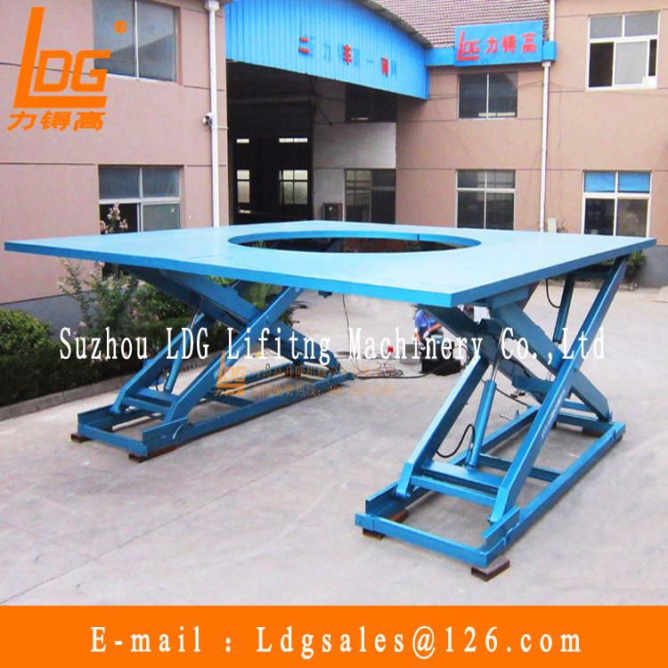 Customized Samll Stationary Hydraulic Scissor Lift Table (SJG0.3-0.5D)