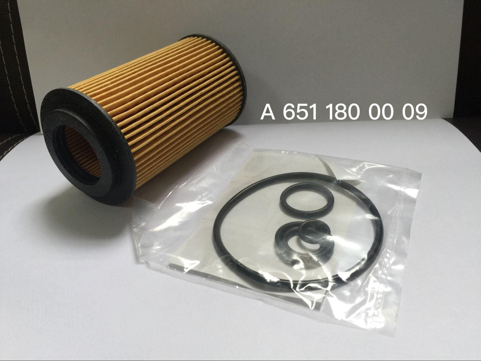 Oil Filter for Mercedes-Benz 651 180 00 09
