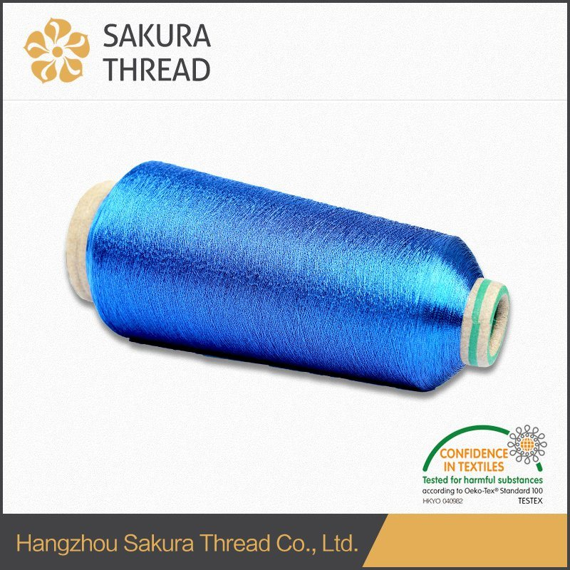 Good Softness Property Metallic Yarn for Army Clothes