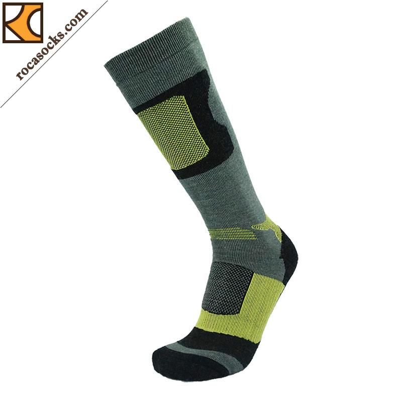 Men′s Warm Ski Merino Wool Sport Socks (161002SK)