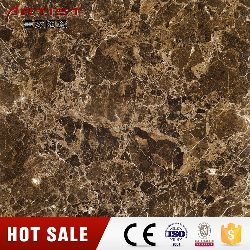 Stone Look Brown Color Porcelain Tile Indoor Tile