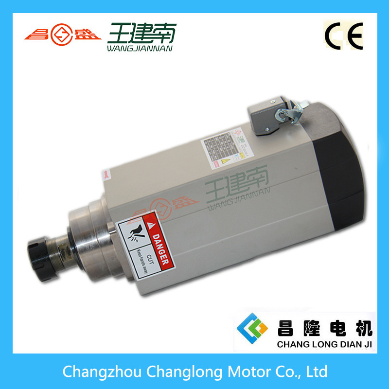 6kw 24000rpm 12A High Speed High Frequancy Air Cooling Spindle for Wood Carving