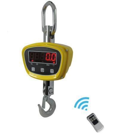 1500kg Digital Crane Scale LED Rotated Hook