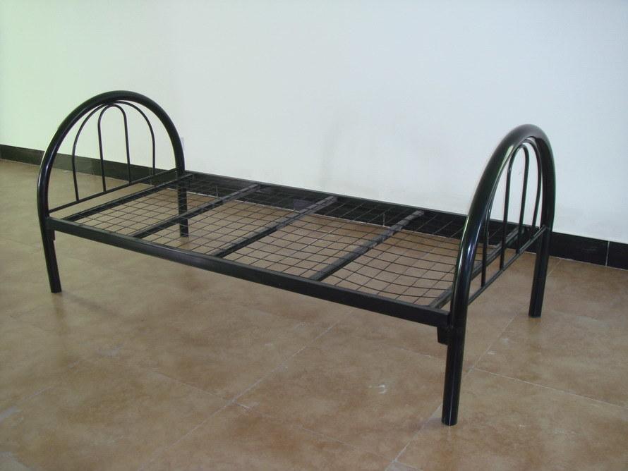 Single Metal Bed : China Steel Single Bed - China Steel Single Bed, Metal Bed