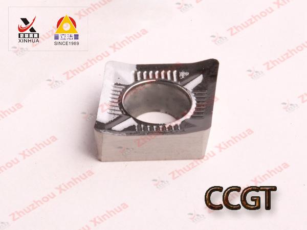 Korloy Aluminium Tungsten Carbide Turning Inserts (CCGT060204) CNC Tools