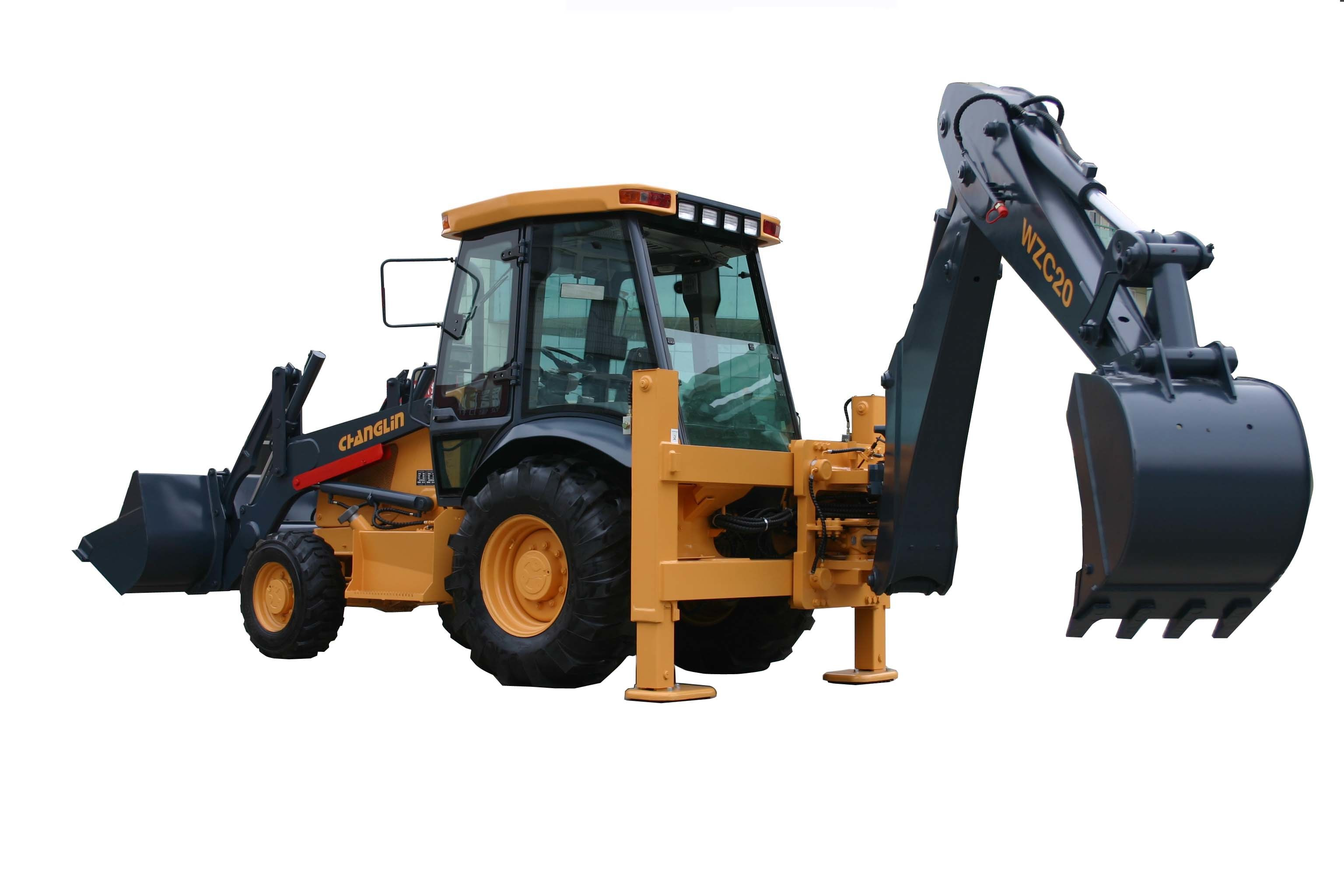 China WZC20 Backhoe Loader - China Backhoe Loader, Loaders