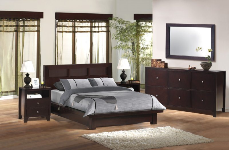 Oak Wood Bedroom Furniture BYD HF 004 China Bedroom Furniture
