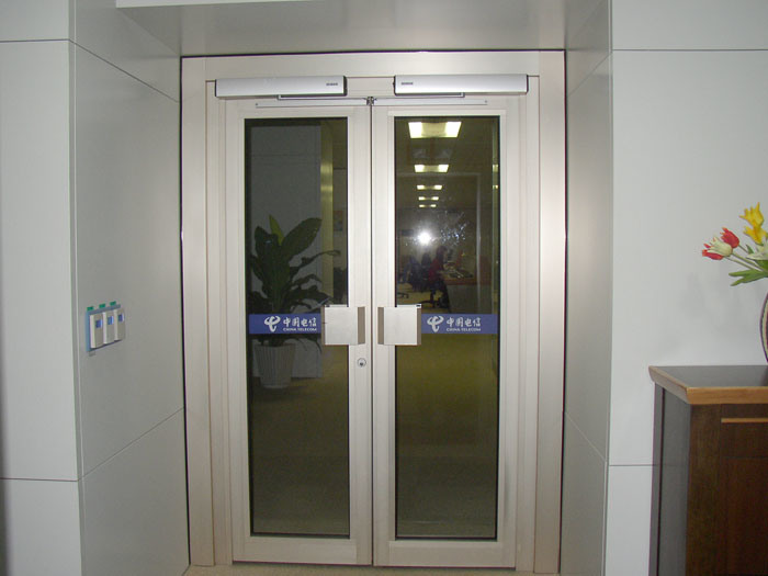 Automatic door opener commercial images