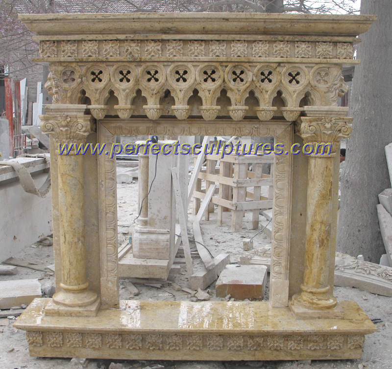 Faux Stone Fireplace Ideas. salvaged fireplace mantels
