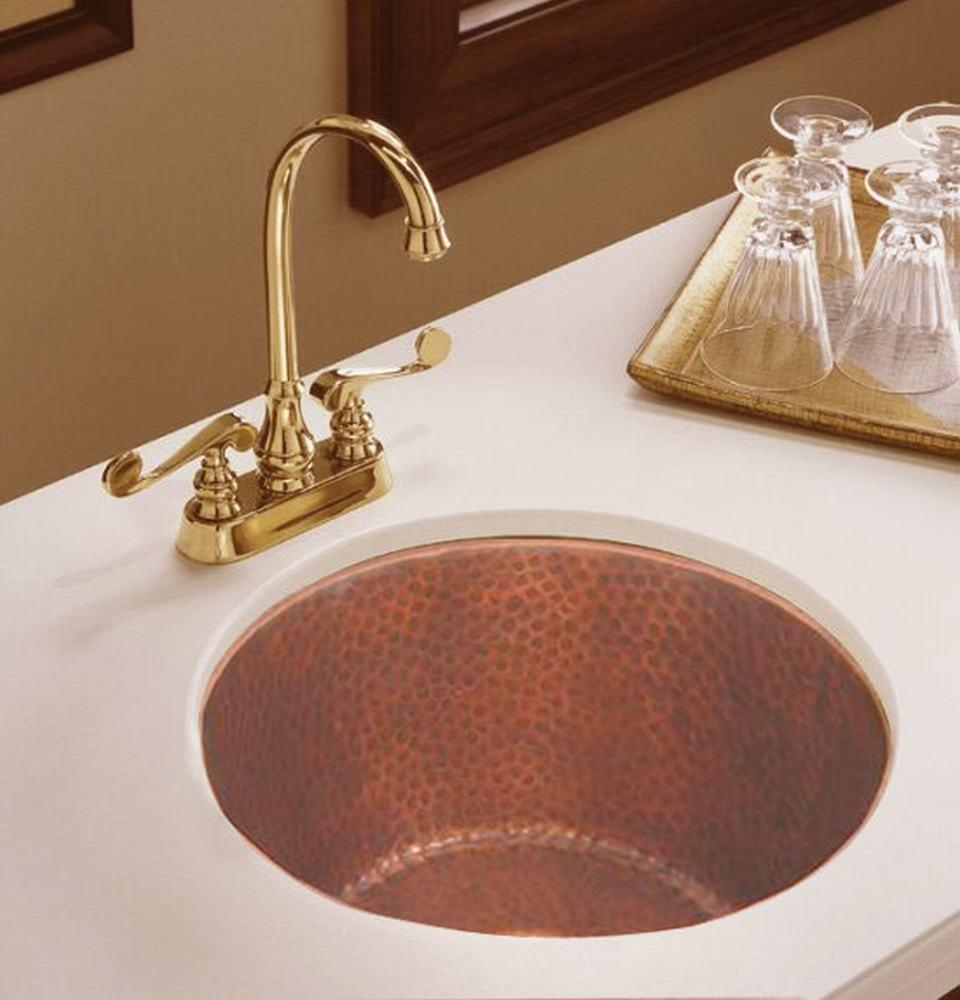 China Bar Sink, Copper Sinks, Round Vegetable Sink (RBCS