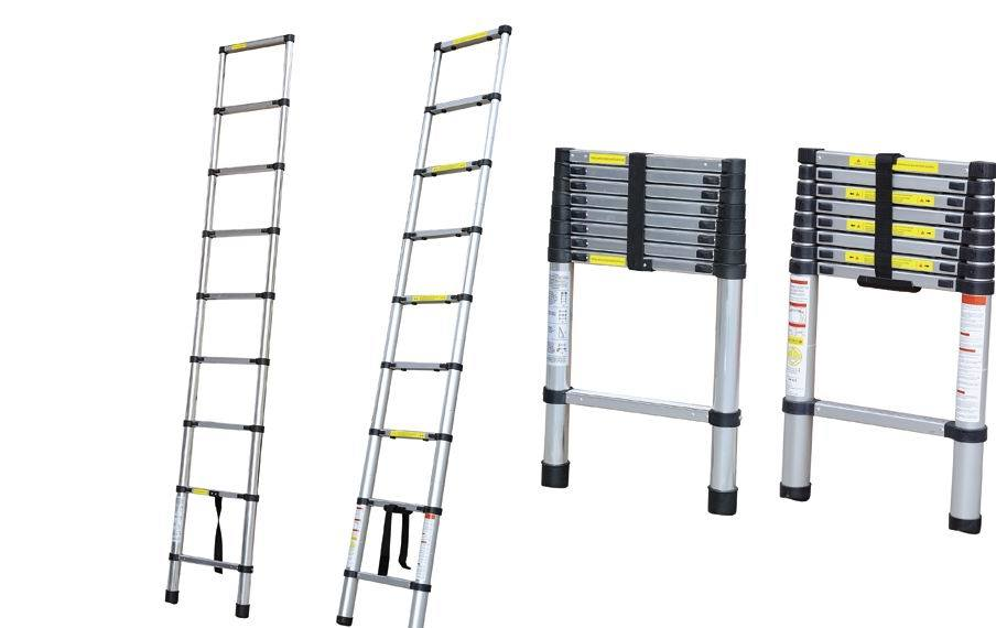 Telescopic Ladder Parts : China telescopic ladder aluminum