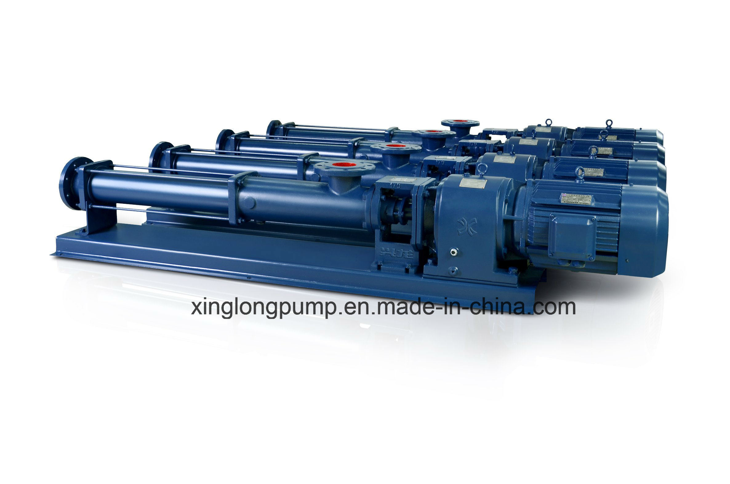 Xinglong Progressive Cavity Helical Mono Screw Pumps for Viscous Liquids