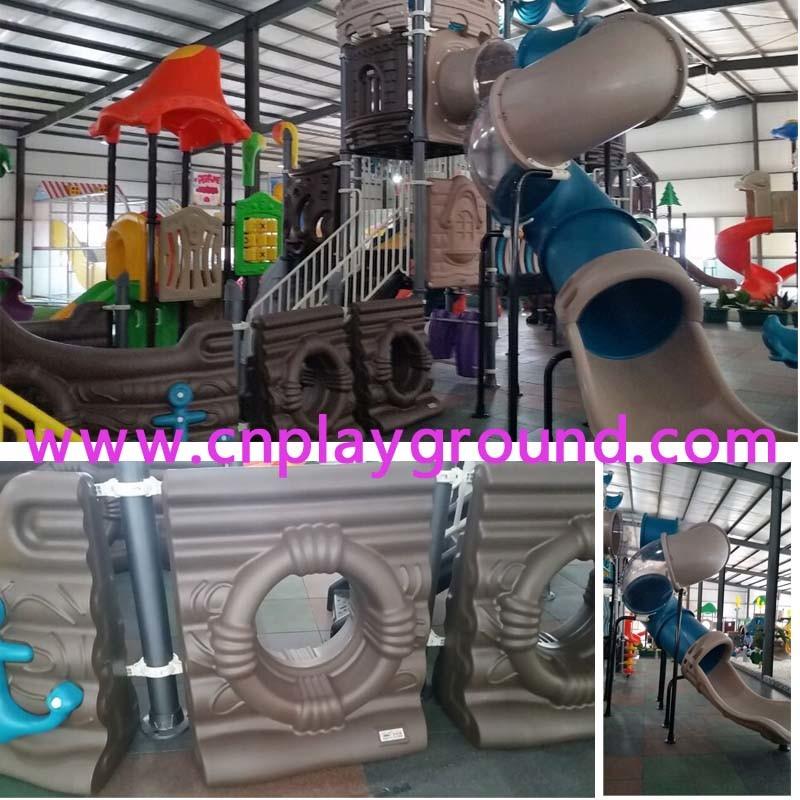 Lager Pirate Ship Amusement Park Outdoor Playground Equipment (HK-50052)