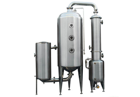 Stainless Steel External Cycling Vacuum Concentration Tank