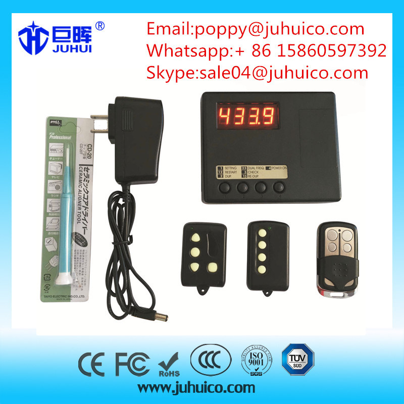 Universal Remote Control Duplicator Copy Machine with Frequency Reader