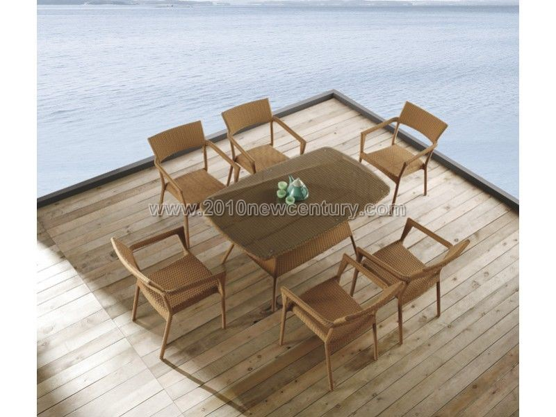 Outdoor /Rattan/ Garden/ Wicker/ Patio Chair Table (7120)