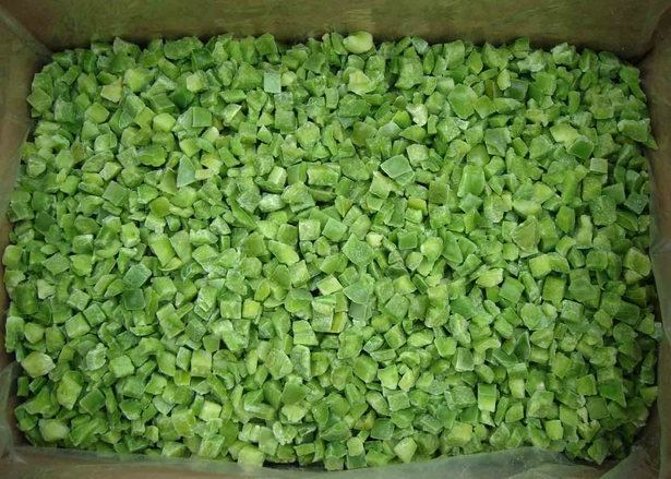 diced green pepper - photo #23